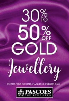 30% to 50% off Gold Jewellery