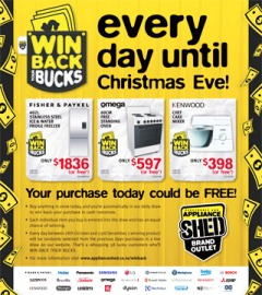 Win Back Your Bucks Everyday Until Christmas