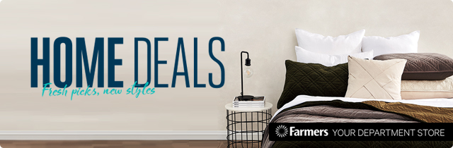 Home Deals Fresh Picks New Styles - Farmers
