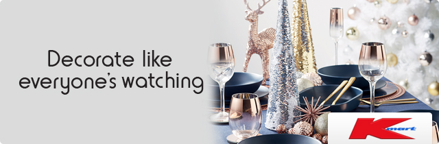 Decorate Like Everyones Watching - KmartNZ