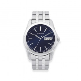 Seiko-Gents-Blue-Dial-Watch on sale