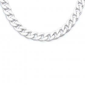 Sterling-Silver-55cm-Curb-Chain on sale