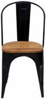 Fulham-Dining-Chair-Black on sale