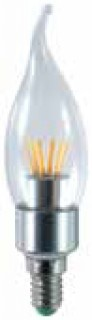 LED-Globe-E14-4W-Clear-Flame-Tip-Dimmable-Warm-White on sale