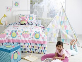 Kids-House-Ollie-Owl-Duvet-Cover-Set on sale