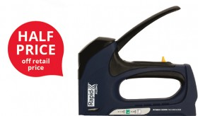 Rapid-ALU94-Powercurve-Easy-Press-Hand-Staple-Tacker on sale