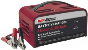 Repco-4300mA-Linear-Battery-Charger on sale