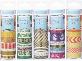 NEW-Crafters-Choice-Washi-Tape on sale