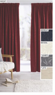Buy-2-or-More-Save-40-off-Ava-Ready-to-Hang-Pencil-Pleat-Curtains on sale