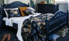 Brittany-Queen-Bed-Black on sale