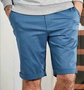 Gasoline-Tailored-Chino-Short-Blue on sale