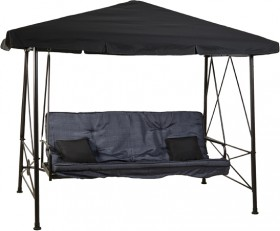 Outdoor-Creations-Heritage-Steel-Gazebo-Bed-Swing on sale