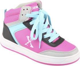 Roller-Shoes-High-Top-Pink on sale