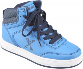 Roller-Shoes-High-Top-Blue on sale