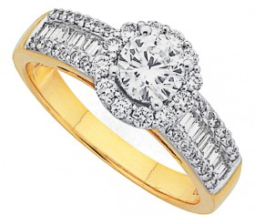 18ct-Diamond-Ring on sale