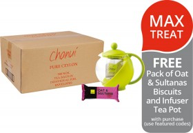 Chanui-Enveloped-Tea-FREE-PACK-OF-OAT-SULTANAS-BISCUITS-AND-INFUSER-TEA-POT-WITH-PURCHASE on sale