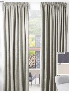 NEW-Lewis-Blockout-Ready-to-Hang-Pencil-Pleat-Curtains on sale