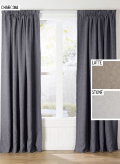 50-off-Macaya-Tripleweave-Ready-to-Hang-Pencil-Pleat-Curtains on sale