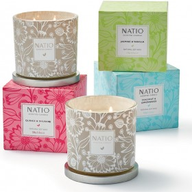 NEW-Natio-Scented-Candles on sale