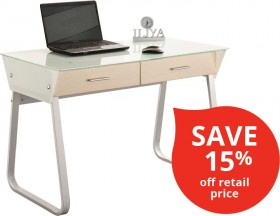 Computer-Desk-with-2-Drawers on sale