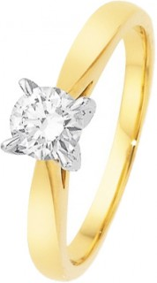 18ct-Diamond-Solitaire-Ring on sale