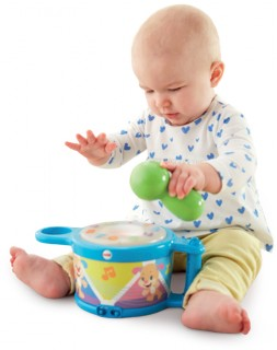 Half-Price-Fisher-Price-Laugh-Learn-Tap-Teach-Drum on sale