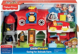 Fisher-Price-Little-People-Caring-for-Animals-Farm-Set on sale
