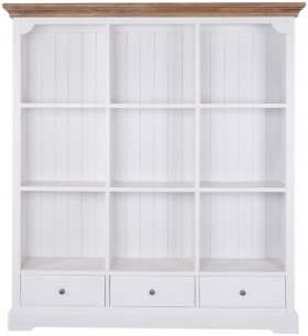 Willow-3-Drawer-Bookcase-9-Hole on sale