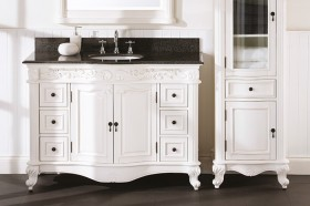 Rosette-Vanity-with-Mirror-1245mm on sale