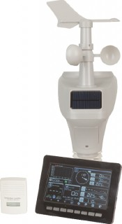 Wi-Fi-Wireless-Weather-Station-with-7-Colour-LCD-Solar-Power-Sensors on sale