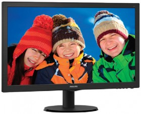 Philips-V-Line-243V5QHABA-23.6-Inch-FHD-LED-Monitor on sale
