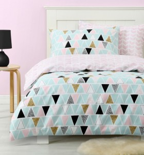 NEW-Ombre-Blu-Nordic-Dreams-Pink-Duvet-Cover-Set on sale