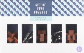 Set-of-5-Puzzles on sale