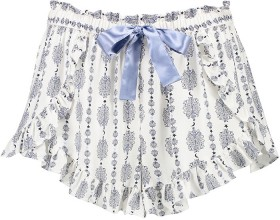 Womens-Wrap-Shorts-with-Frill on sale