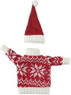 Knitted-Bottle-Decoration on sale