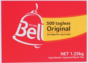 Bell-Tea-Original-500-Pack on sale