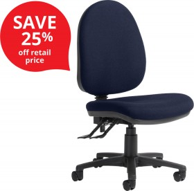 Logic-3-Lever-High-Back-Chairs on sale