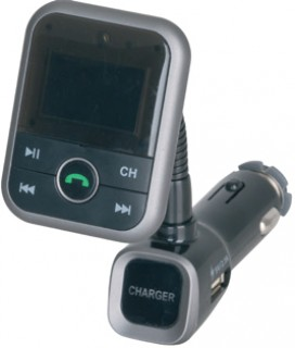 Bluetooth-Handsfree-with-FM-Transmitter-and-2.1A-USB-Charger on sale