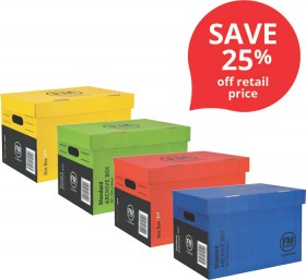 FM-Coloured-Archive-Boxes on sale