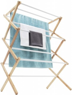 Airer-with-Bamboo-Frame on sale