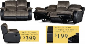 Fairmont-3-Seater-with-2-In-Built-Recliners-2-Seater-with-2-In-Built-Recliners on sale