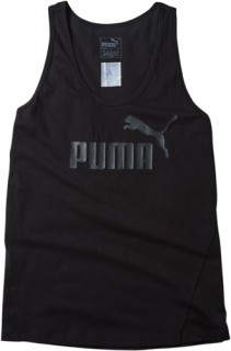 Puma-Womens-Essential-Sporty-No.-1-Tank-Black on sale