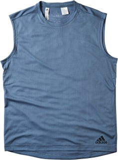 Adidas-Mens-Training-Tank-Steel on sale