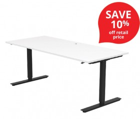 Duo-Electric-Height-Adjustable-Desk on sale