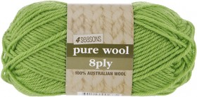 4-Seasons-Pure-Wool-8ply-50g on sale