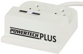 NEW-Mains-and-USB-Power-Hub-with-Smartphone-Cradle on sale