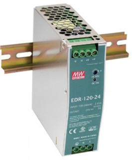 NEW-Mean-Well-120W-48V-2.5A-EDR-Din-Rail-Power-Supply on sale