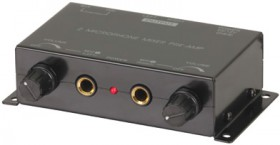 NEW-2-Channel-Microphone-Mixer-with-Preamplifier on sale